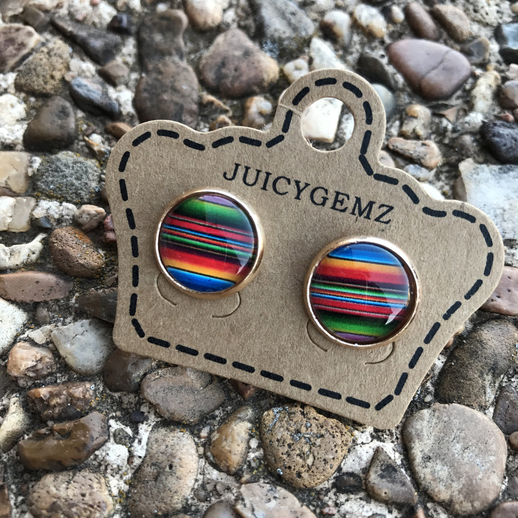 12mm Serape Rounds - Juicy Gemz