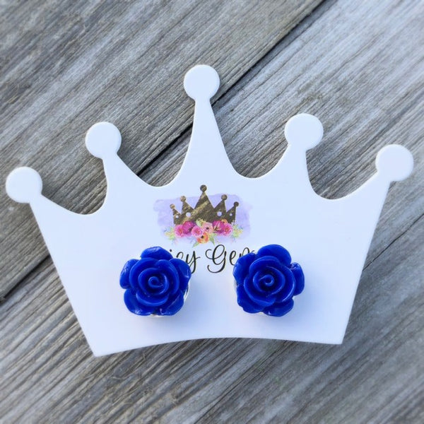 Royal Blue Roses - Juicy Gemz