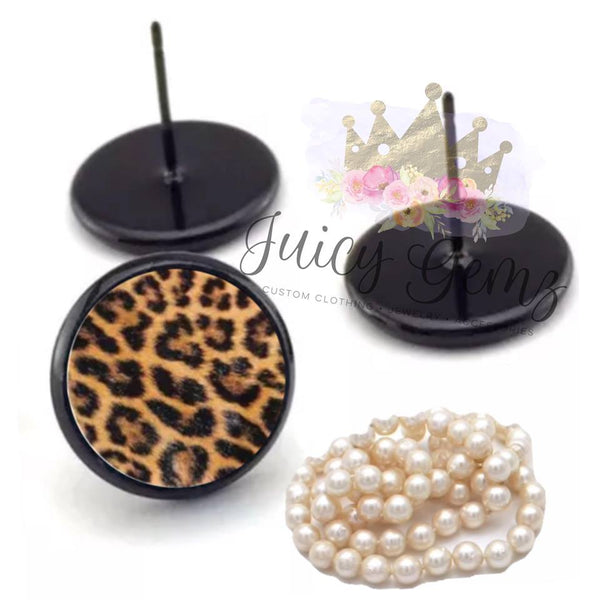 Classic Leopard Rounds - Juicy Gemz