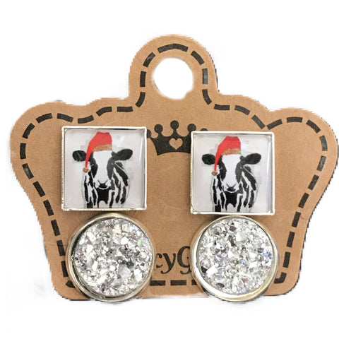 Christmas Cow / Drusy Pack - Juicy Gemz