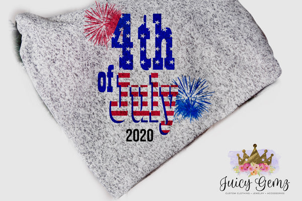 4th of July 2020 Blanket