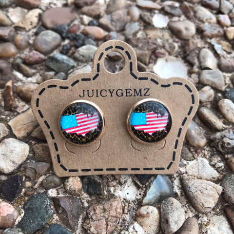 12mm leopard USA - Juicy Gemz