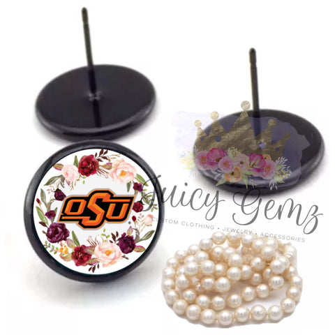 OSU Floral Print - Juicy Gemz