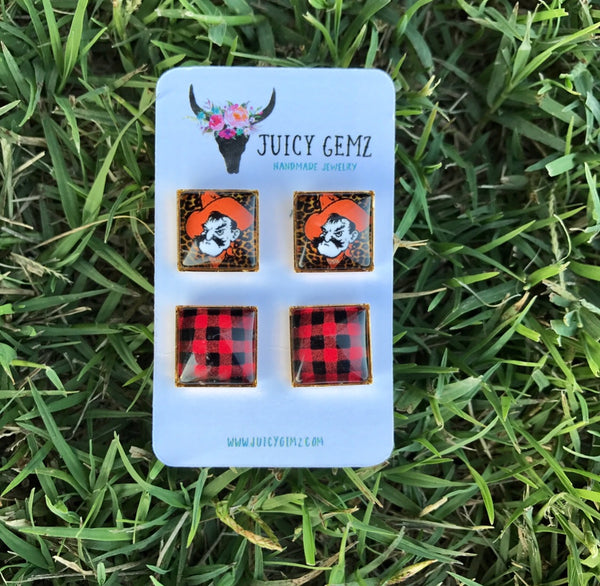 Game Day Pistol Pete/ Plaid Duo Pack - Juicy Gemz