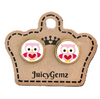 Girls Owl Love Studs - Juicy Gemz