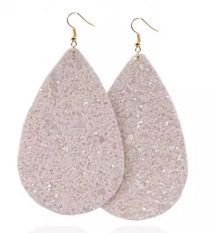 Glitter Leathers - Blush Pink - Juicy Gemz