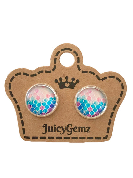 Mermaid Studs - Juicy Gemz