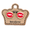 Red Lip Studs - Juicy Gemz