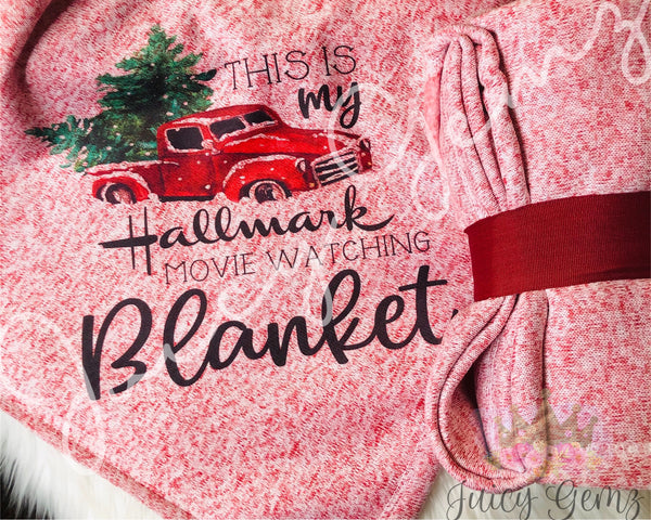 Hallmark Watching Blanket - Juicy Gemz