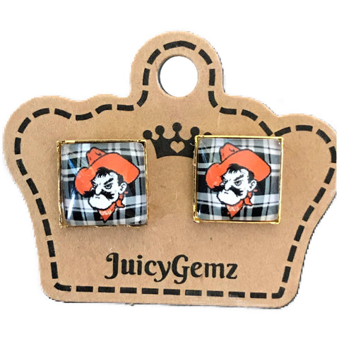 Plaid Pistol Pete Squares - Juicy Gemz
