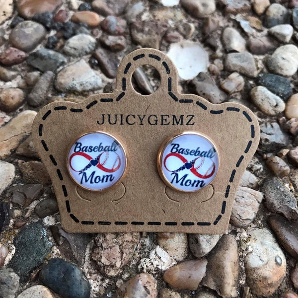 12mm Baseball mom - Juicy Gemz