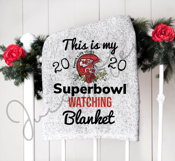 SuperBowl Kansas City Chiefs Blanket - Juicy Gemz
