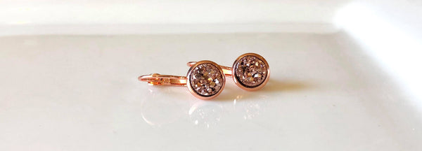 8mm Rose Gold Drops in Rose Gold - Juicy Gemz