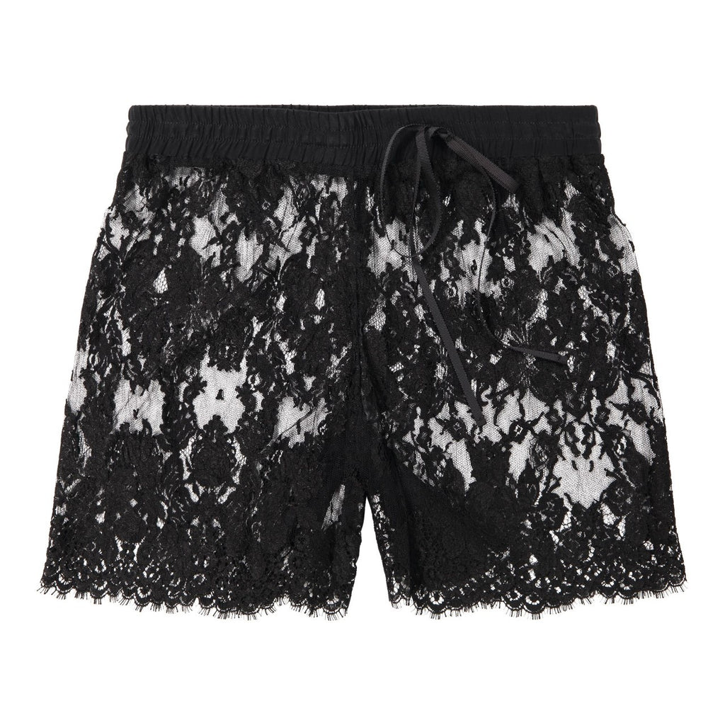 HIGH HIP LACE SHORT