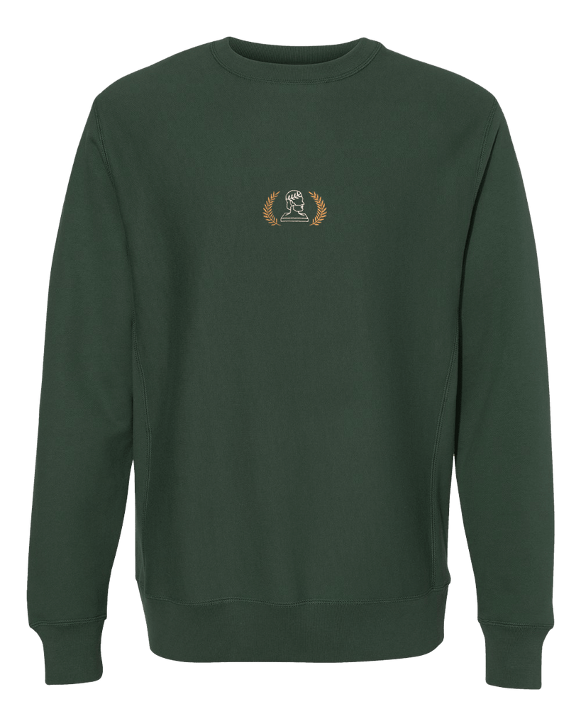 Logo Crewneck Sweatshirt - Alpine Green