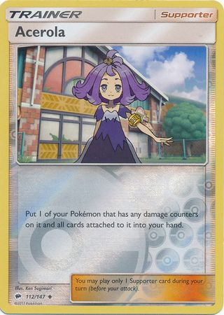Acerola - 112/147 - Reverse Holo - Burning Shadows