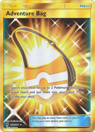 Adventure Bag Secret Rare - 228/214 - Lost Thunder