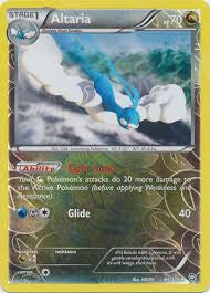 Altaria Reverse Holo Rare - 84/124 - Dragons Exalted