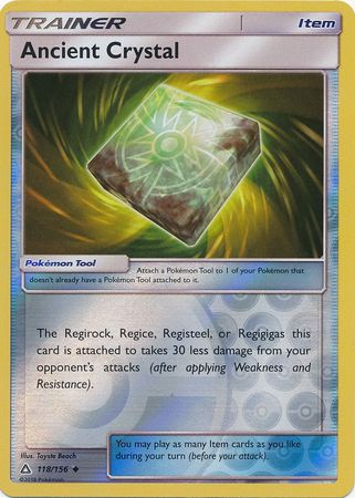 Ancient Crystal Reverse Holo - 118/156 - Ultra Prism