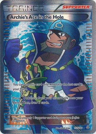 Archie's Ace in the Hole Full Art - 157/160 - Primal Clash