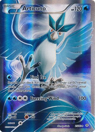 Articuno Full Art Holo - 25/83 - Generations
