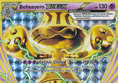Beheeyem BREAK - XY135 - XY Promos