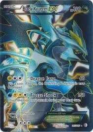 Black Kyurem EX Full Art - 145/149 - Boundaries Crossed