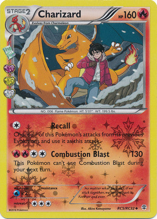 Charizard Holo - RC5/RC32 - Generations