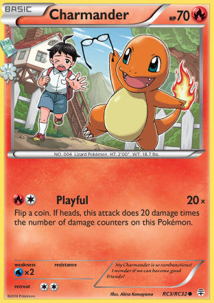 Charmander - RC3/RC32 - Generations