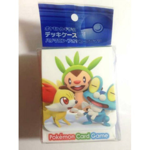 Pokemon Center 2013 Fennekin Froakie Chespin Large Size Deck Box