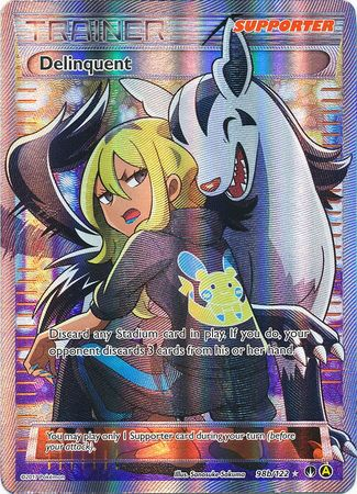 Delinquent Full Art - 98b/122 - BreakPoint