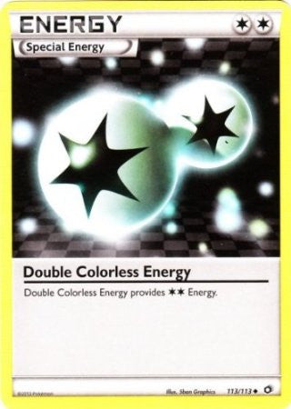 Double Colorless Energy - 113/113 - Legendary Treasures