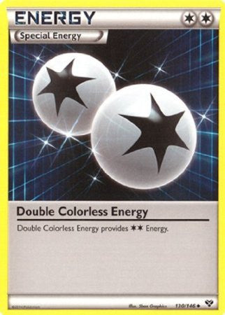 Double Colorless Energy - 130/146 - XY Base