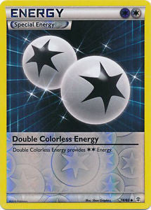 Double Colorless Energy Reverse Holo - 74/83 - Generations