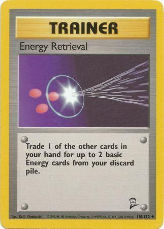 Energy Retrieval - 110/130 - Base 2