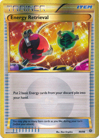 Energy Retrieval Secret Rare - 99/98 - Ancient Origins