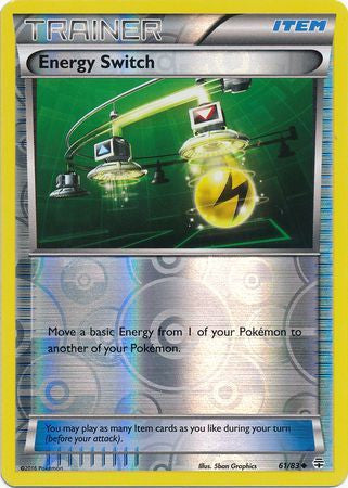 Energy Switch Reverse Holo - 61/83 - Generations