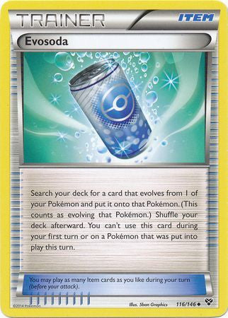 Evosoda - 116/146 - XY Base