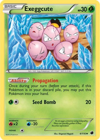 Exeggcute - 4/116 - Plasma Freeze
