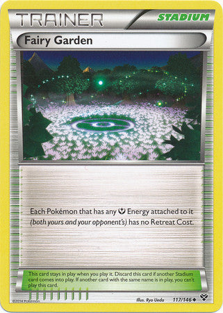 Fairy Garden - 117/146 - XY Base Set