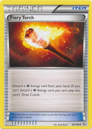Fiery Torch - 89/106 - Flashfire