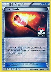 Fiery Torch Reverse Holo League Promo - 89/106 - FlashFire