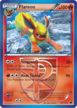 Flareon - 12/116 - Plasma Freeze