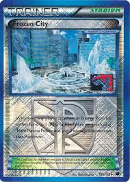 Frozen City Reverse Holo League Promo - 100/116 - Plasma Freeze