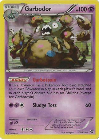 Garbodor Holo Rare - 54/124 - Dragons Exalted
