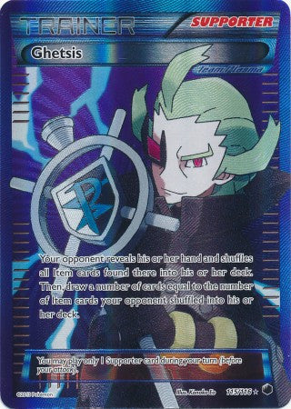 Ghetsis Full Art - 115/116 - Plasma Freeze