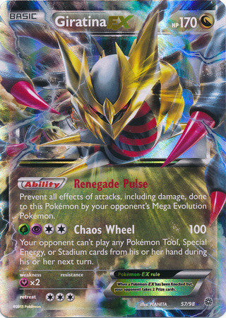 Giratina EX - 57/98 - Ancient Origins