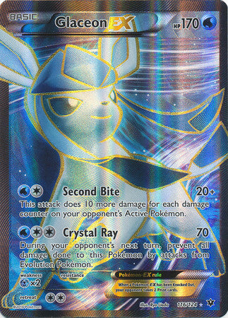 Glaceon EX Full Art - 116/124 - Fates Collide