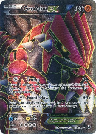 Groudon EX Full Art - 106/108 - Dark Explorers