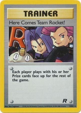 Here Comes Team Rocket Holo Rare - 15/82 - Team Rocket